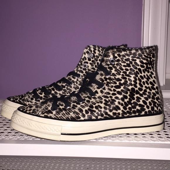 eb7dde8c09fc Poshmark Poshmark Poshmark Shoes Sneakers Top Top Top Top Leopard Converse  Hi qgnwXOzX7